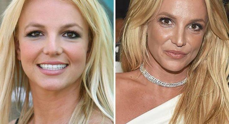 Britney Spears Nose Job