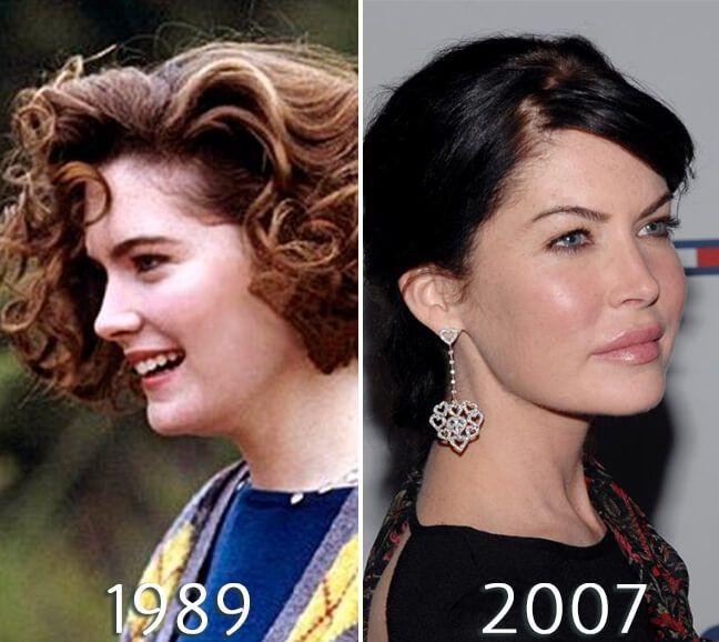 Lara Flynn Boyle Nose Job Plastic Surgery