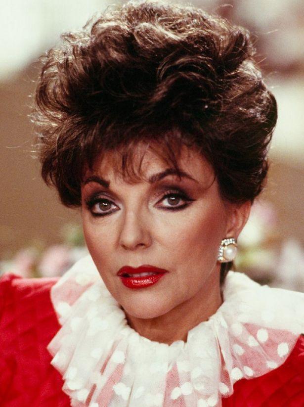 Joan Collins Botox Nose Job Lips Plastic Surgery Rumors