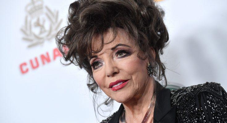 Joan Collins Plastic Surgery Nose Job Boob Job Botox Lips