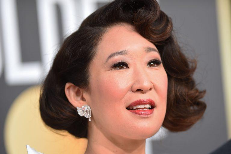Sandra Oh Botox Nose Job Lips Plastic Surgery Rumors